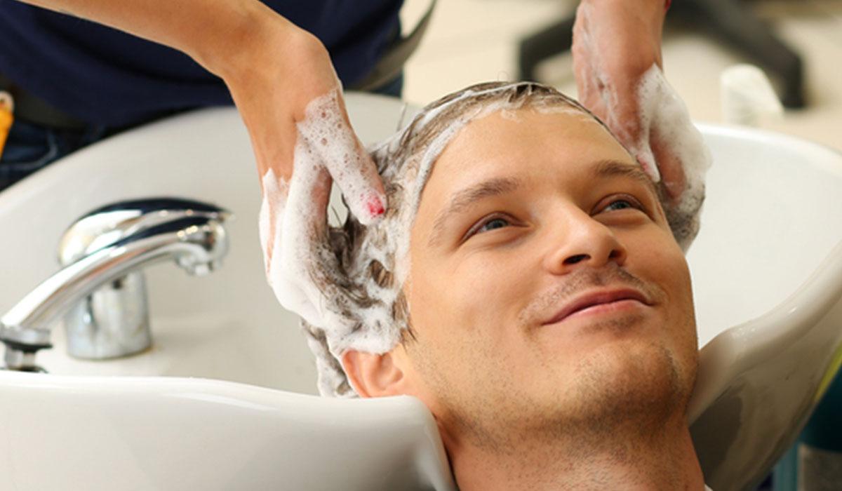 غسل الشعر بعد الزراعة