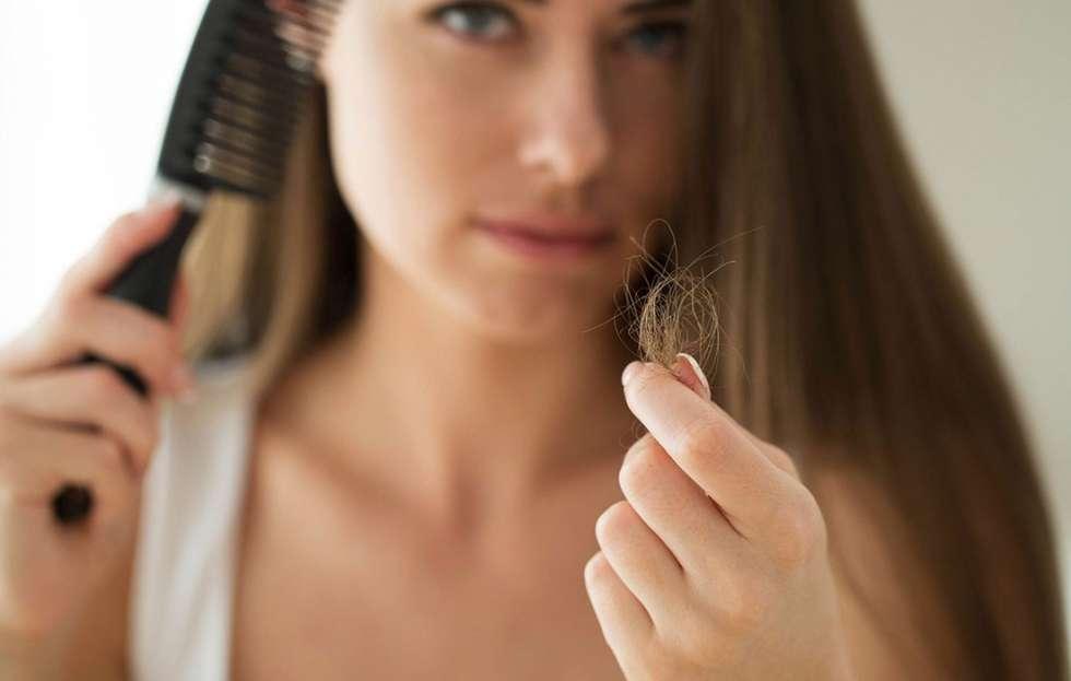 علاج تساقط الشعر بالاعشاب